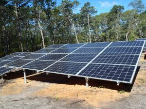 Ground Mounted Solar Installation